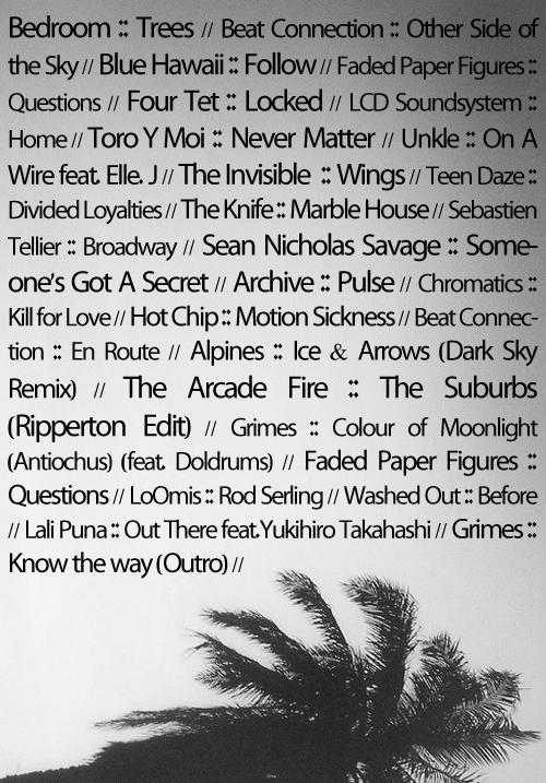 tracklist10-2-13