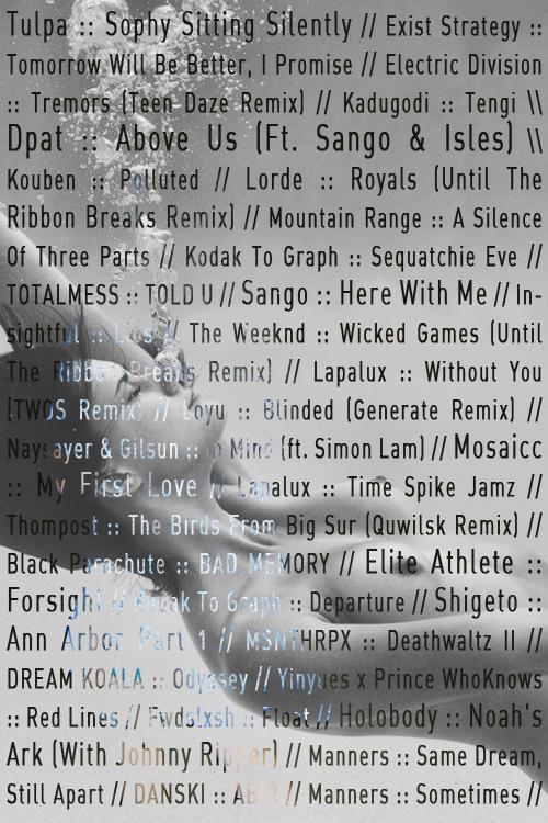 tracklist25-8-13